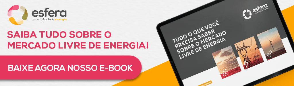 E-book gratuito da Esfera Energia sobre o Mercado Livre de Energia