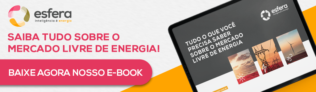 imagem com e-book sobre o mercado livre de energia